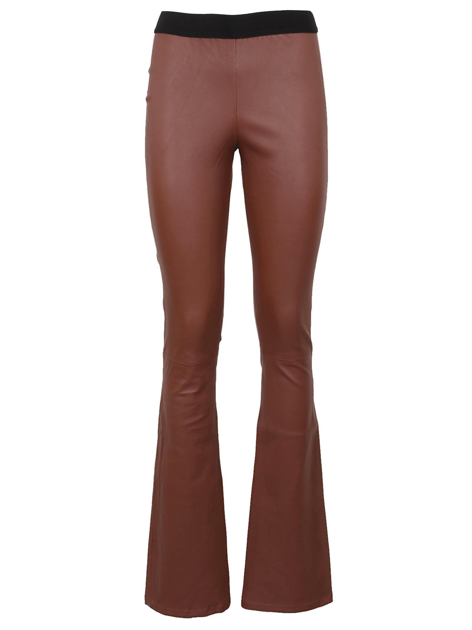 Zinga Leather Leggings