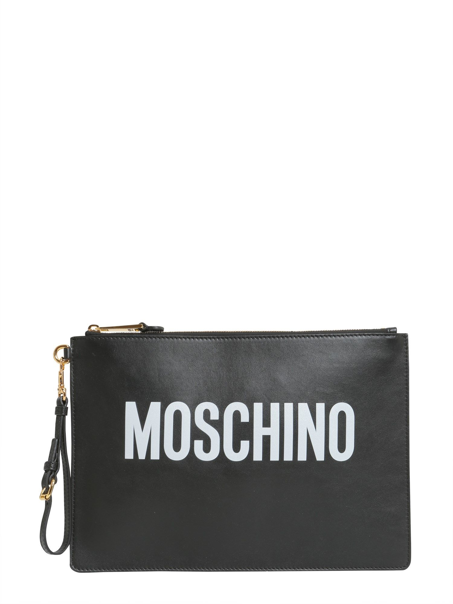 Moschino Printed Large Pouch