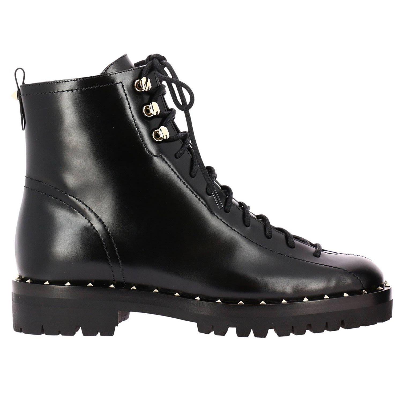 Valentino Garavani - Flat Booties Shoes Women Valentino ...