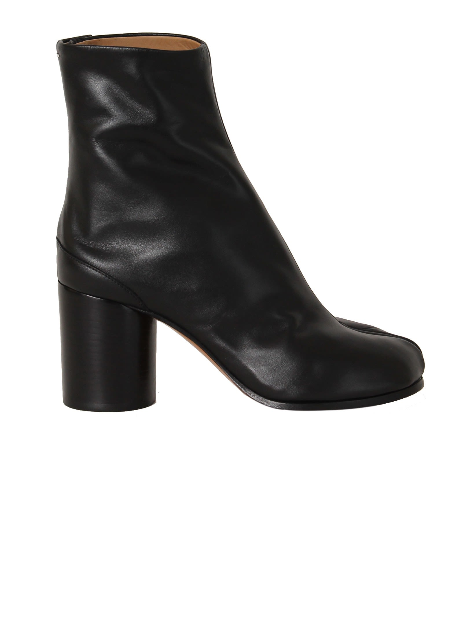 Black Tabi Ankle Boots