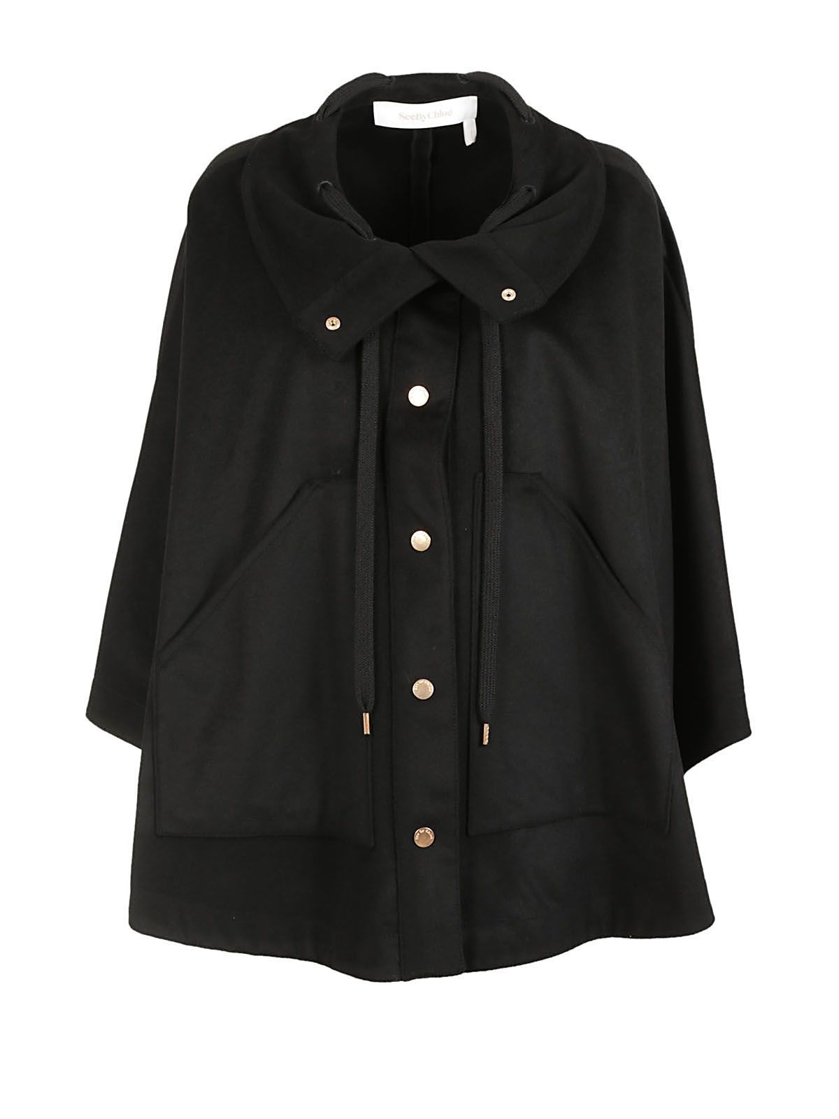 See By Chlo? Oversized Cape Coat