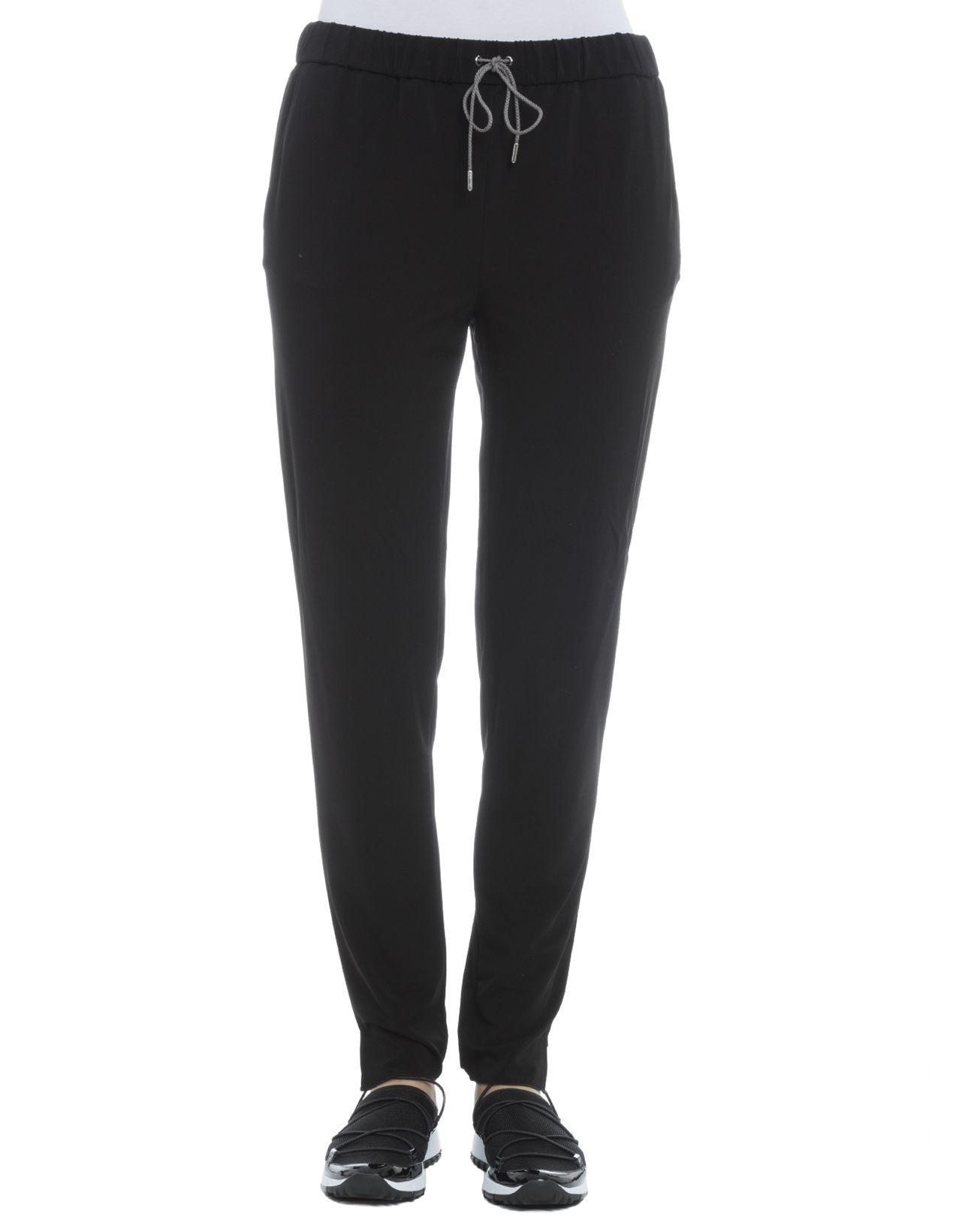 Black Elastan Pants