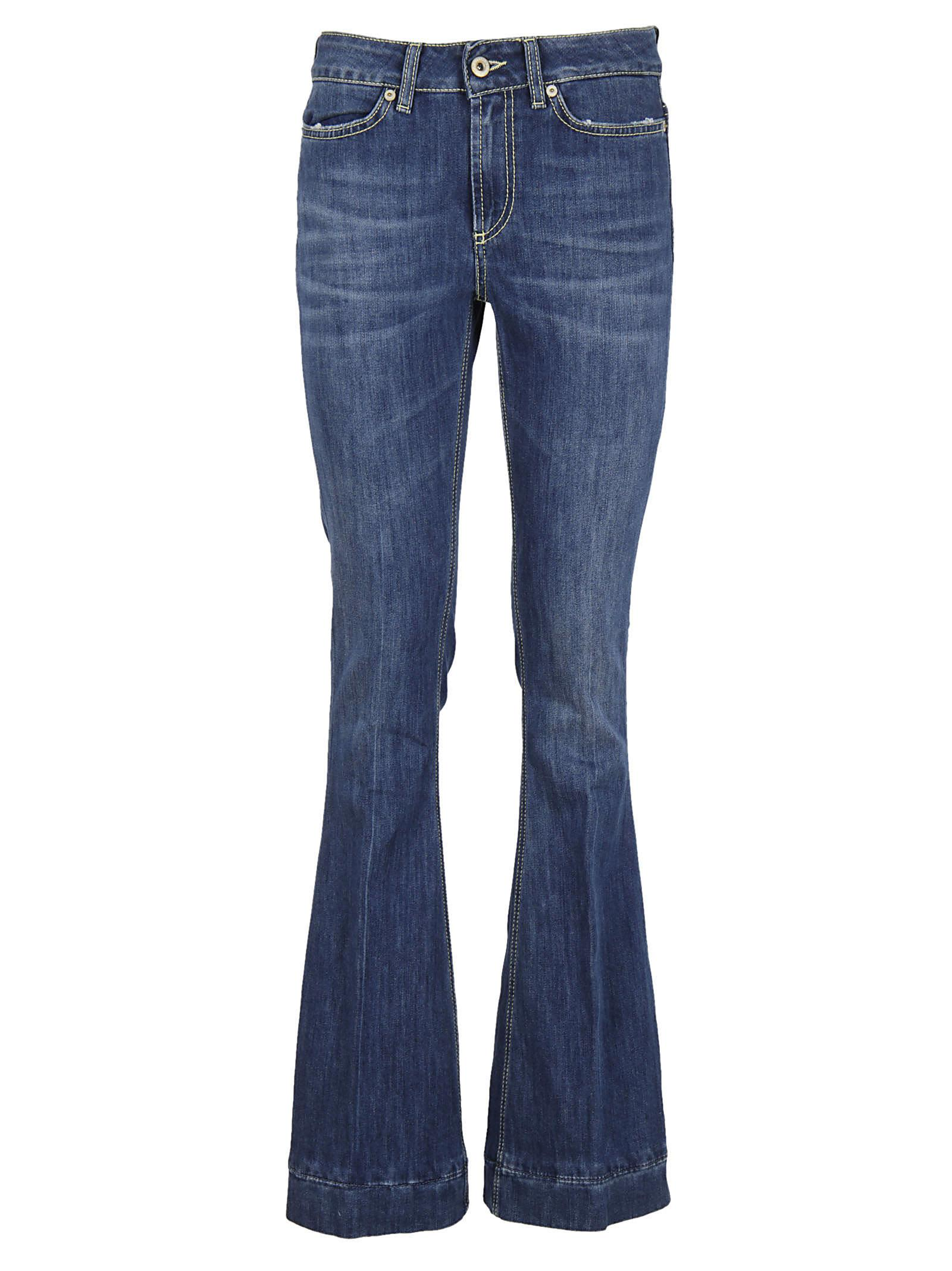 Dondup Fitted Flared Jeans