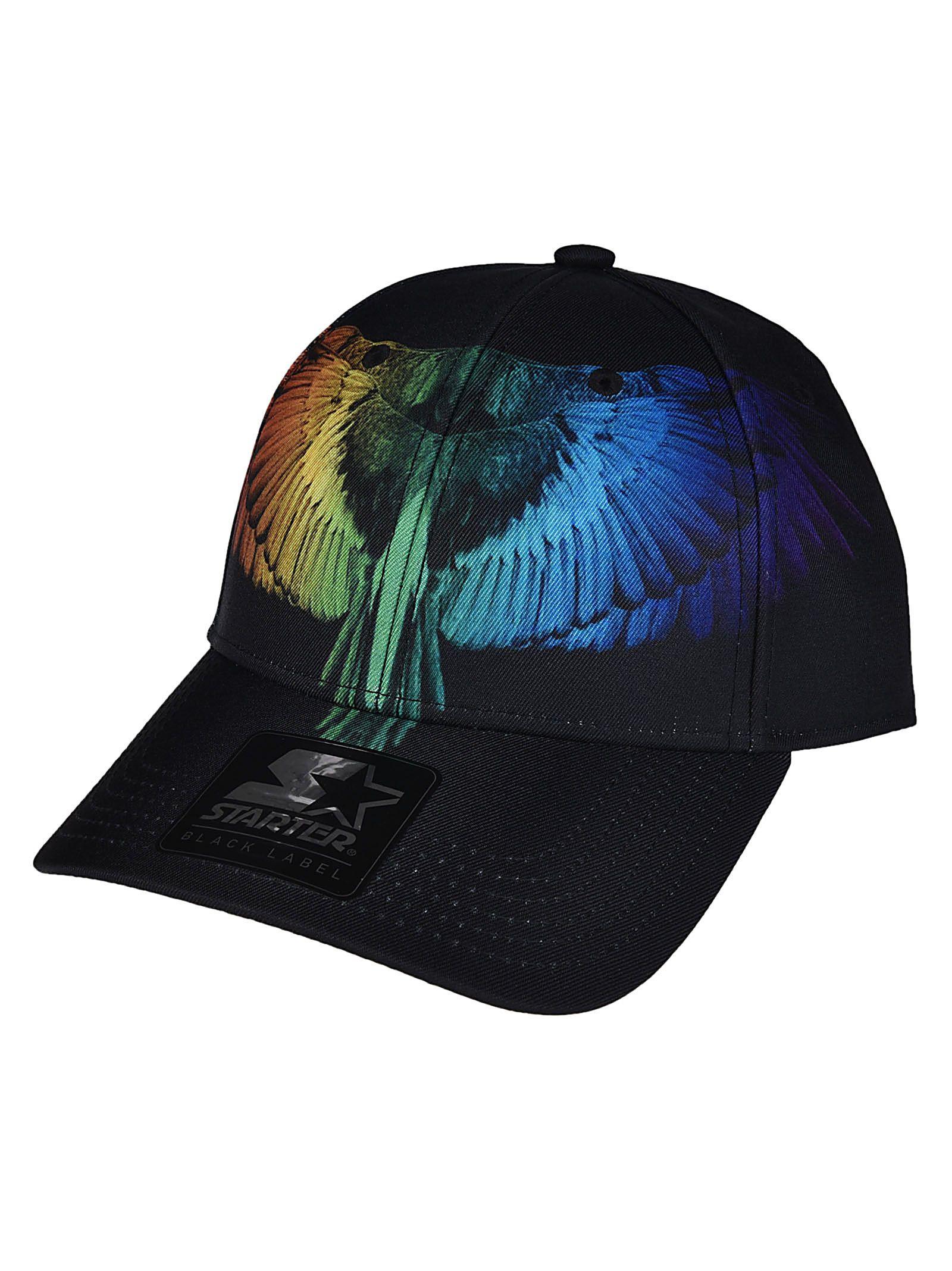 Marcelo Burlon Star Rainbow Bird Cap