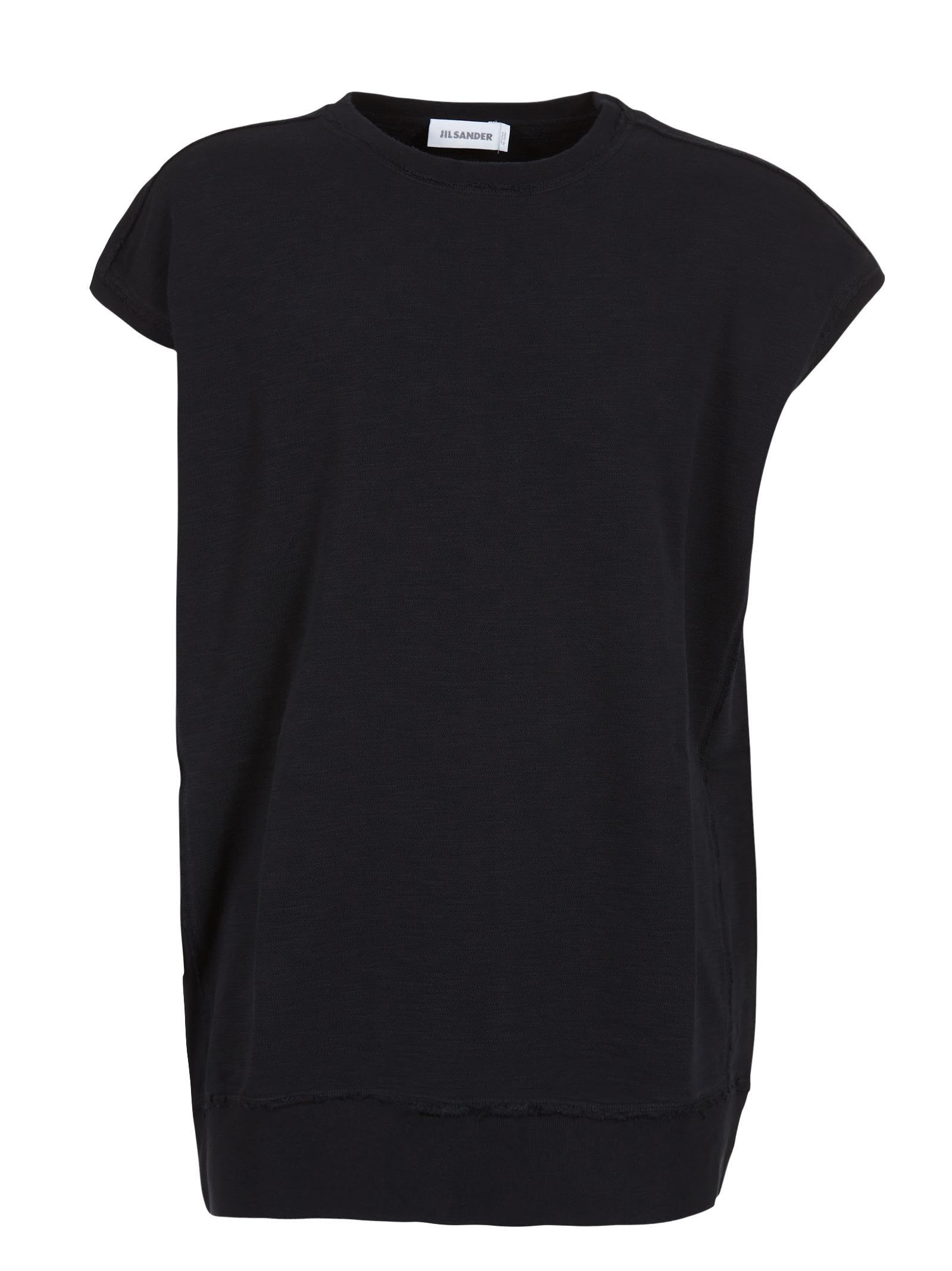 Jil Sander Cap Sleeve T-shirt