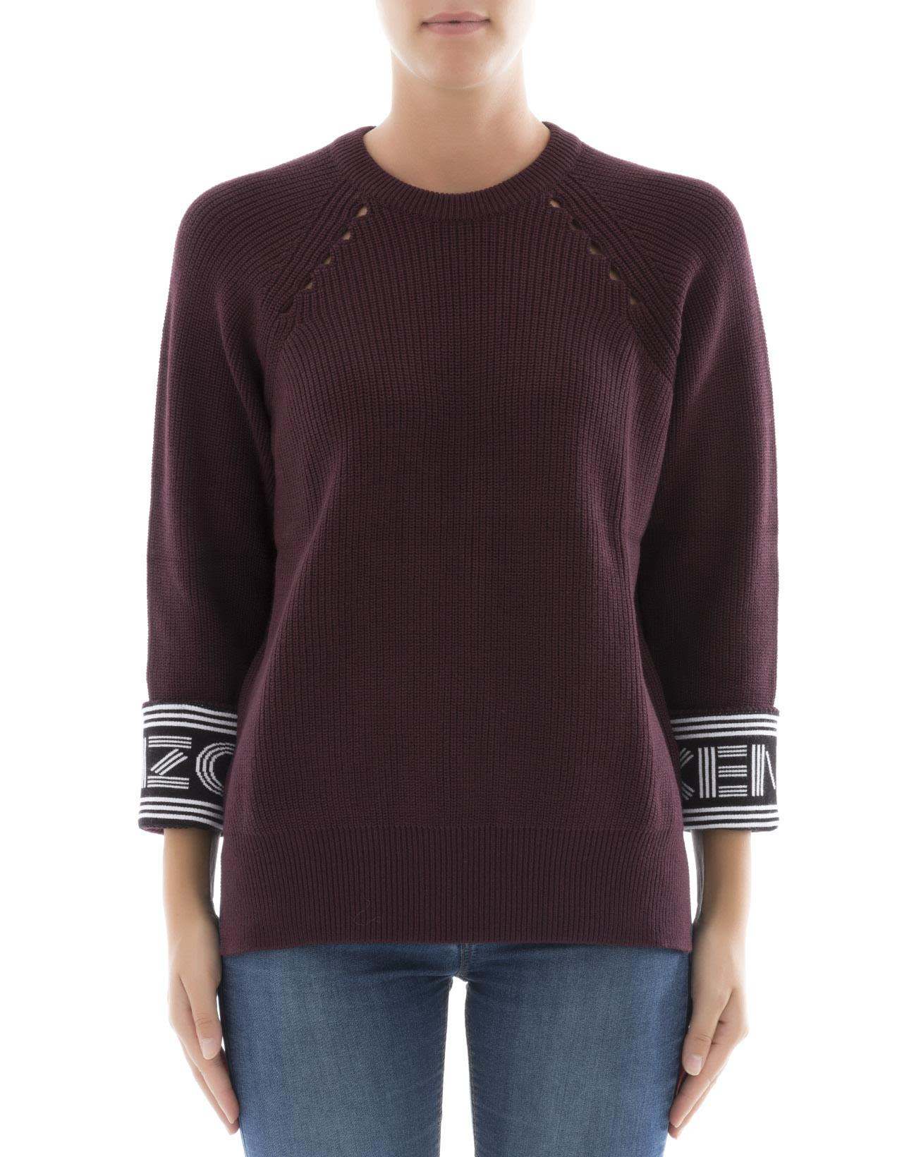Bordeaux Cotton Sweatshirt