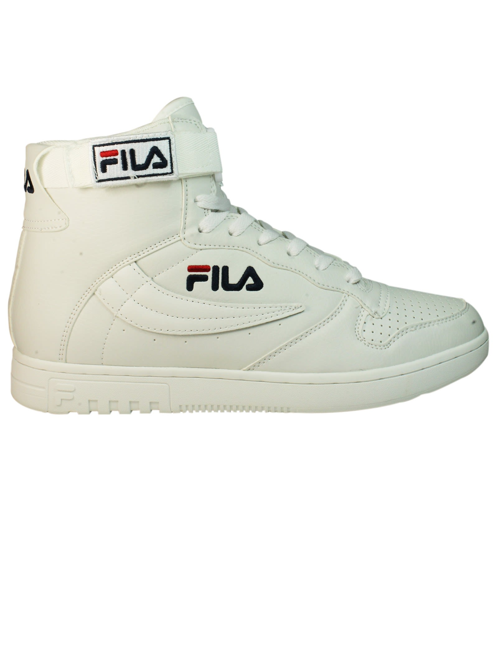 Total White Fx 100 High Sneakers