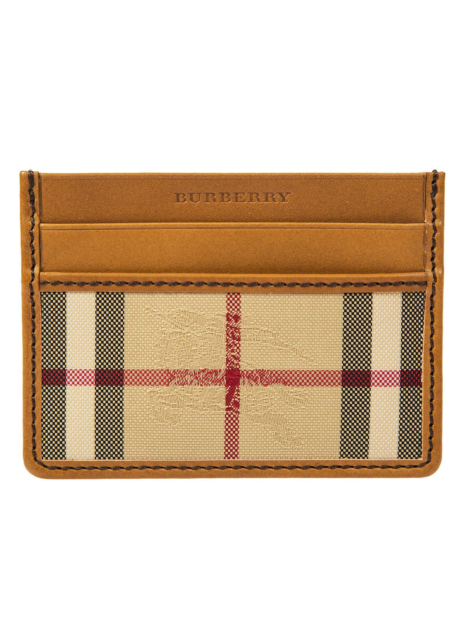 Burberry Horseferry Check Cardholder