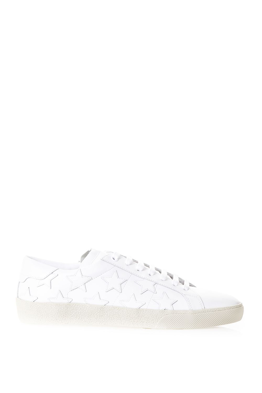 Saint Laurent Signature Court Classic Sl-06 California Sneakers In Distressed Leather