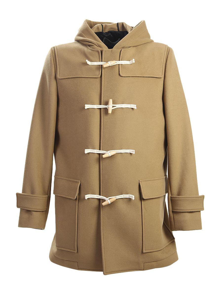 Virgin Wool Duffel Coat