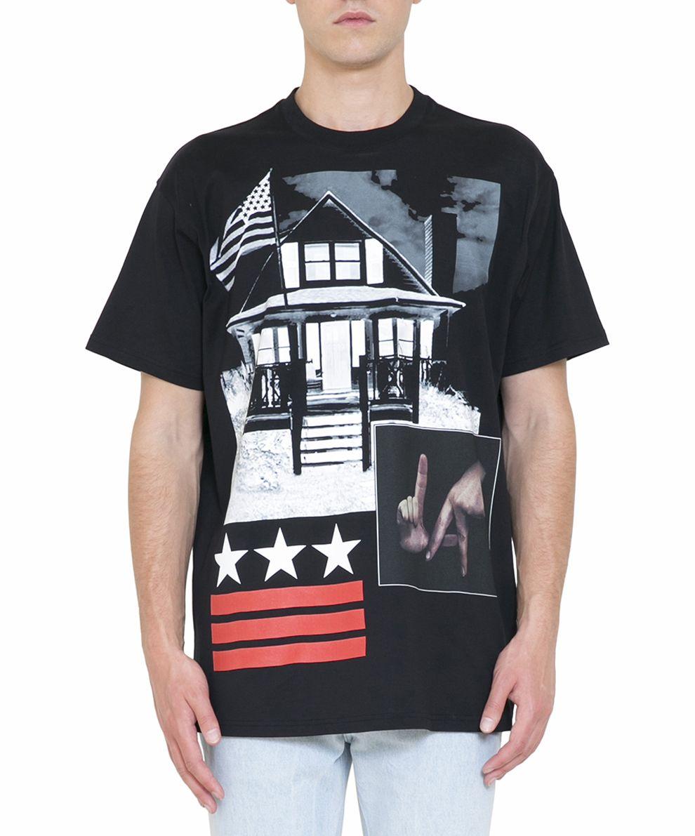 Givenchy L.a. Cuban Fit Cotton T-shirt