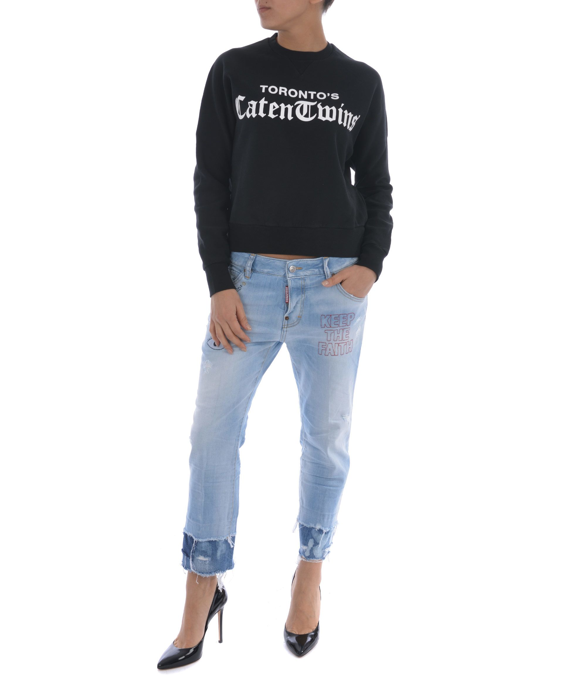 Dsquared2 Torontos Caten Twins Sweatshirt