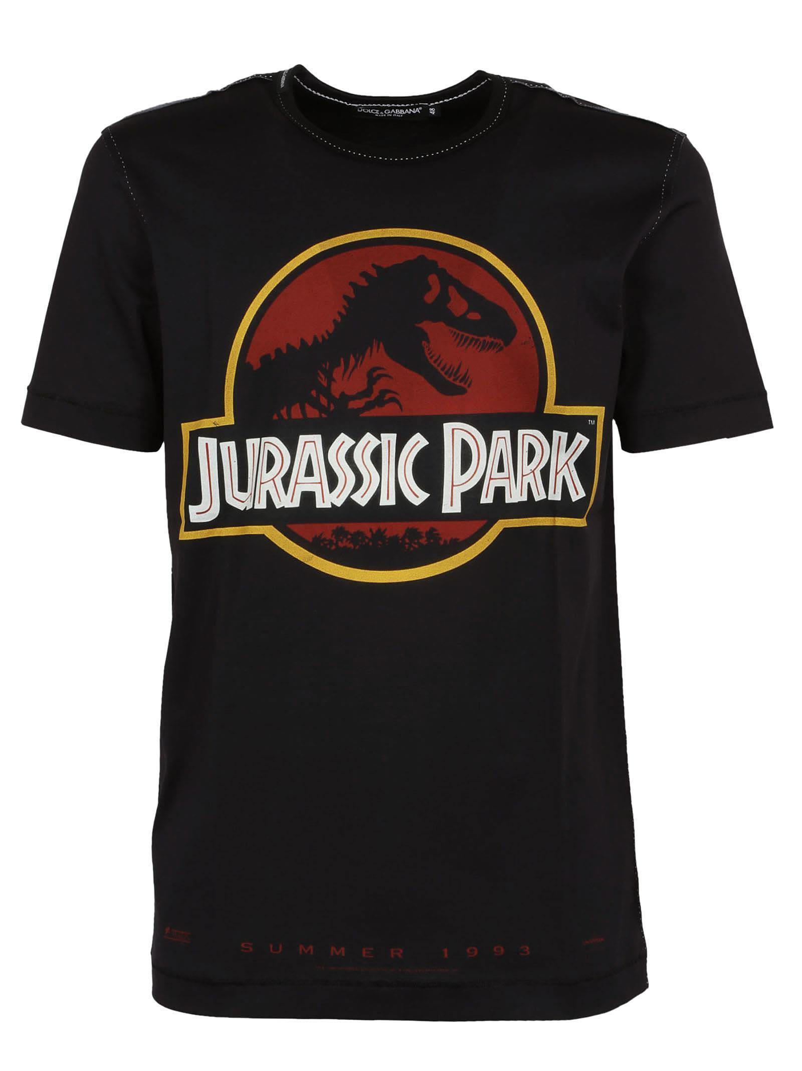 Dolce & Gabbana Jurassic Park T-shirt