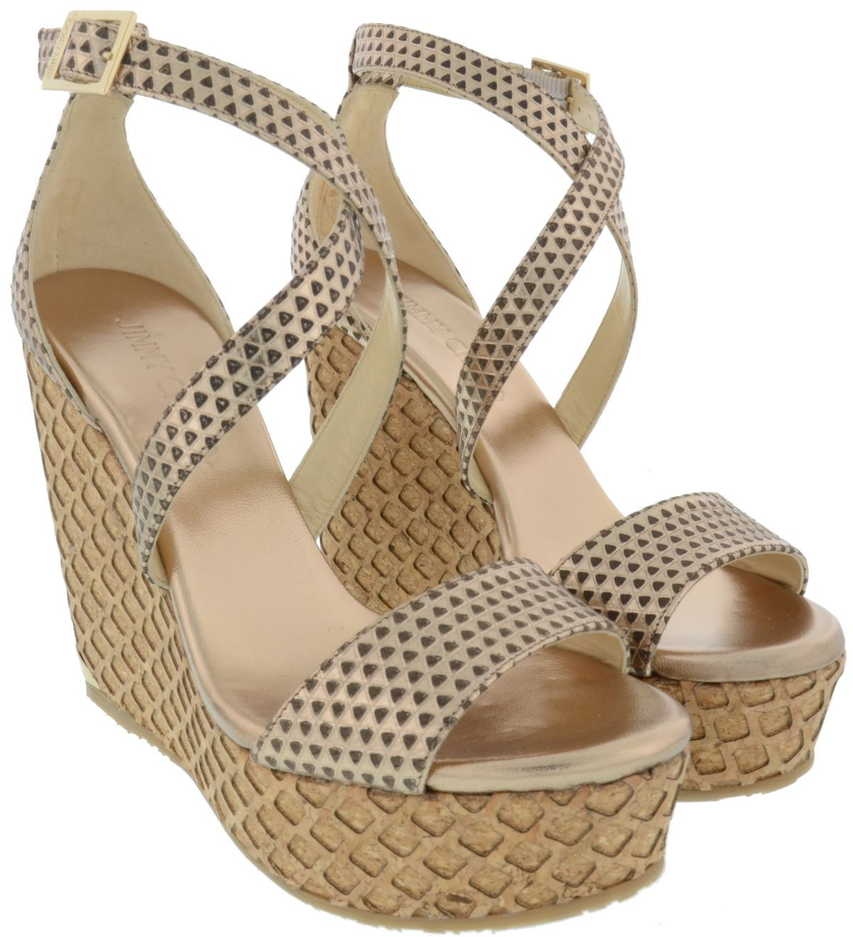 Jimmy Choo Portia Wedge Sandals