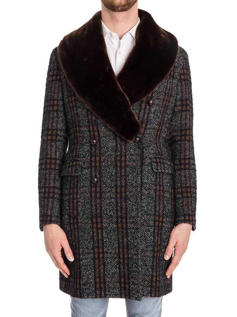Tagliatore Cotton Blend Coat