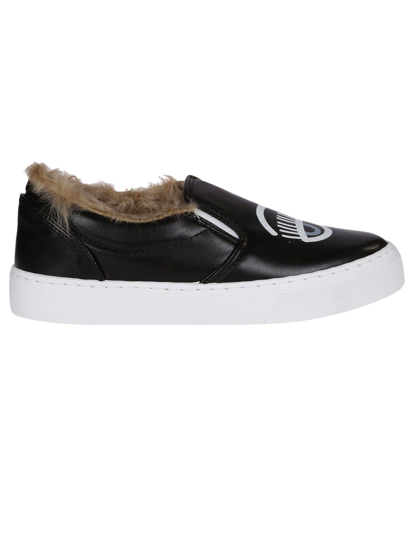 Chiara Ferragni Foderata Slip-on Sneakers