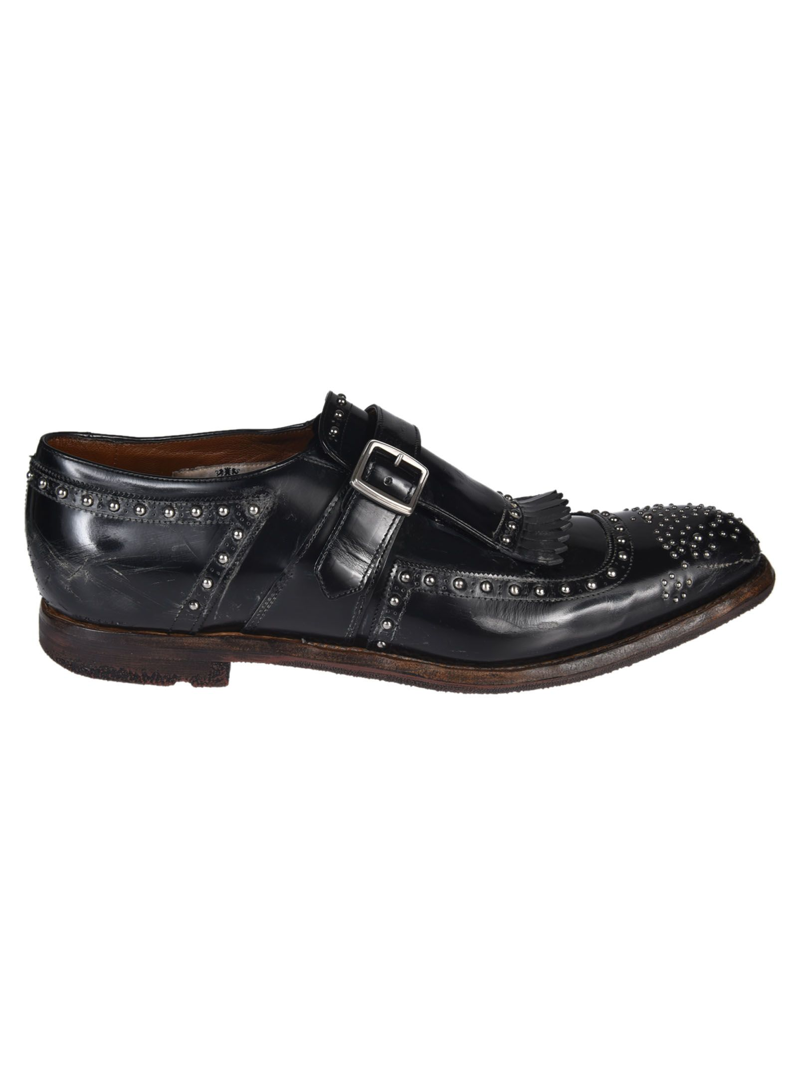 Churchs Studded Monk Shoes