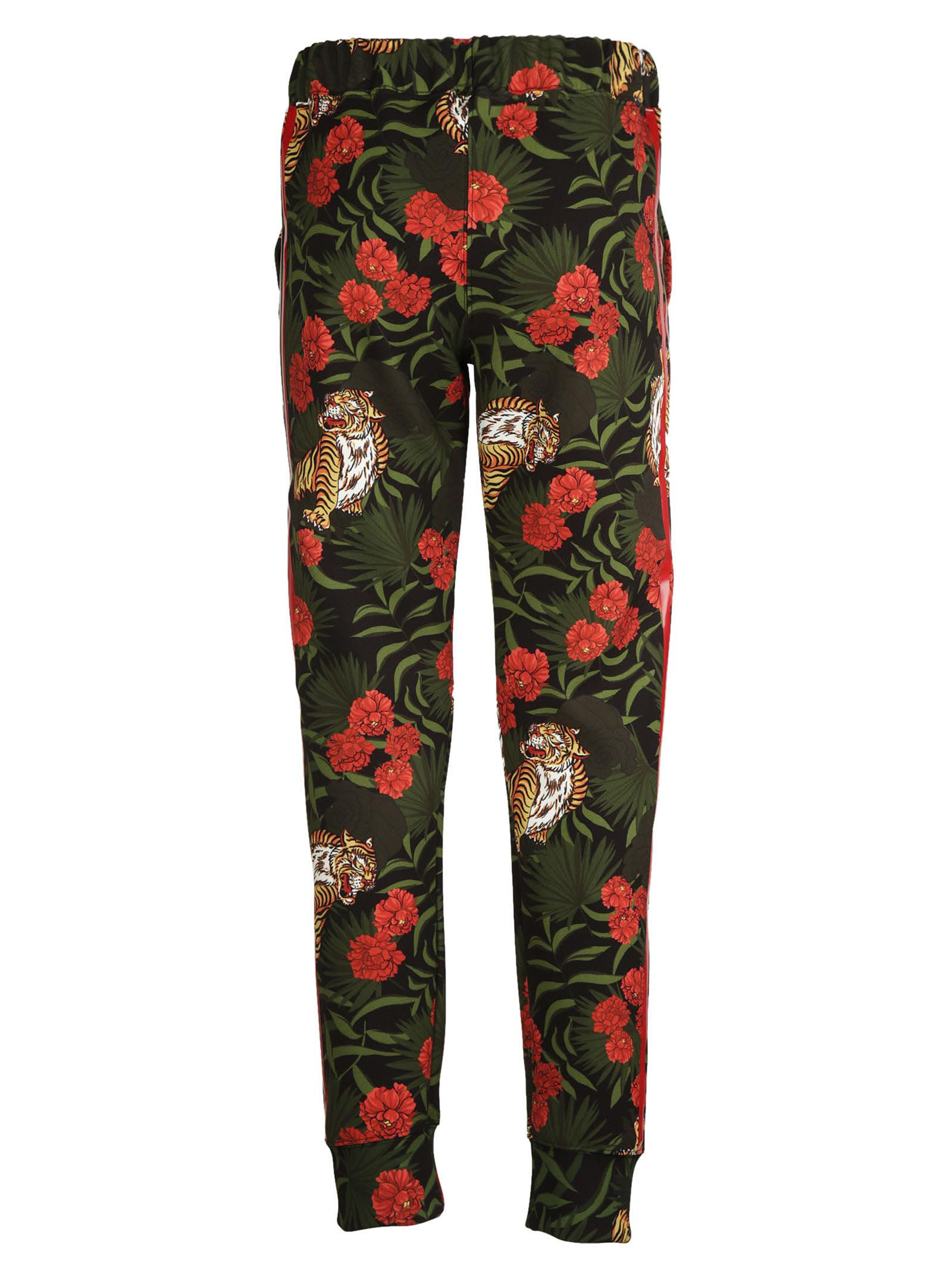 Parosh Jungle Print Track Pants