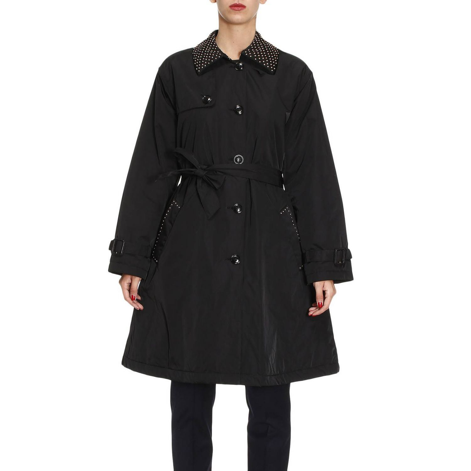 Trench Coat Jacket Women Boutique Moschino