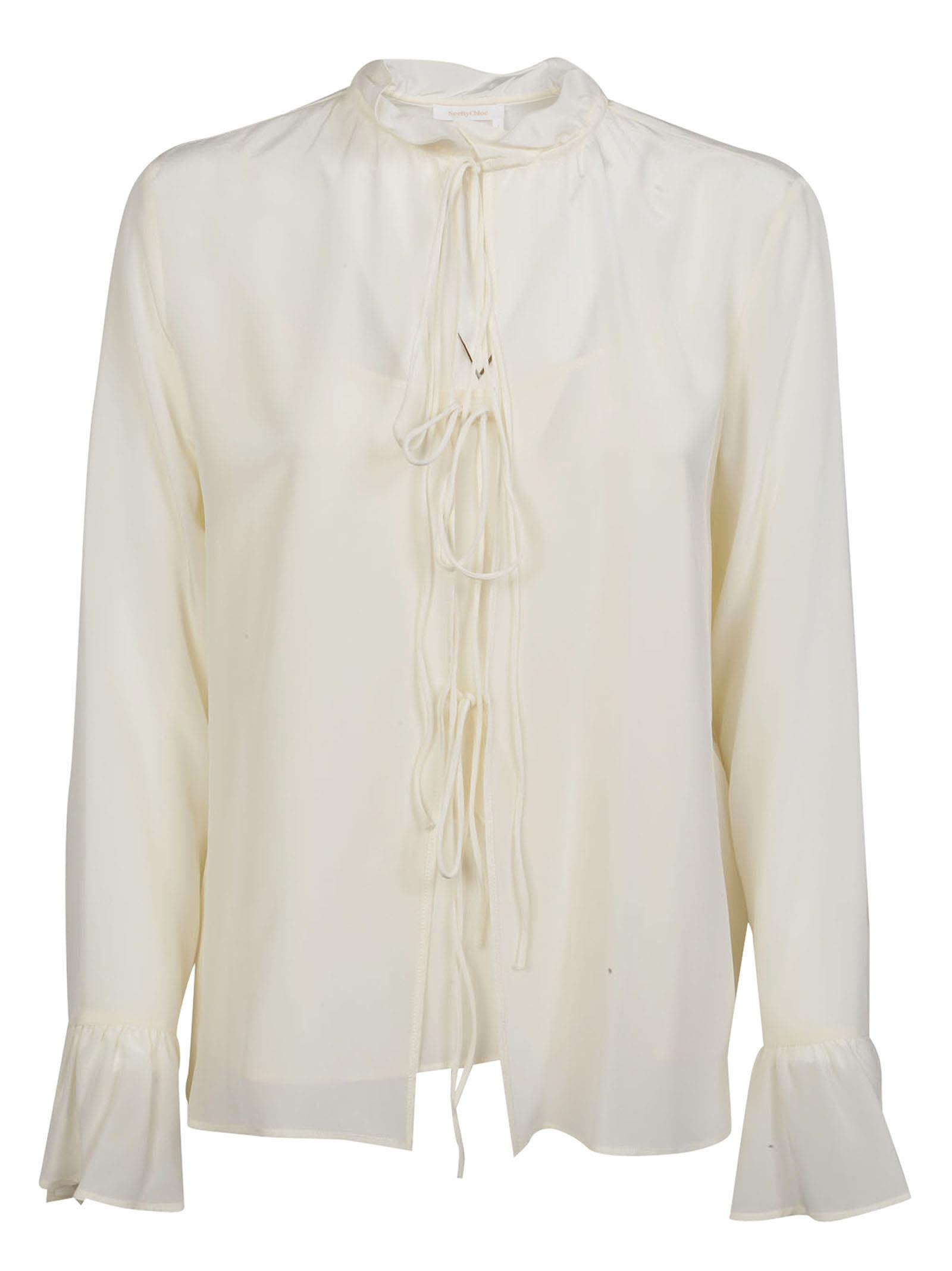 See By Chlo Drawstring Blouse