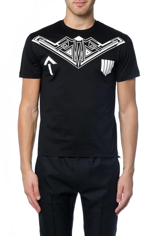 Les Hommes Graphic Print T-shirt