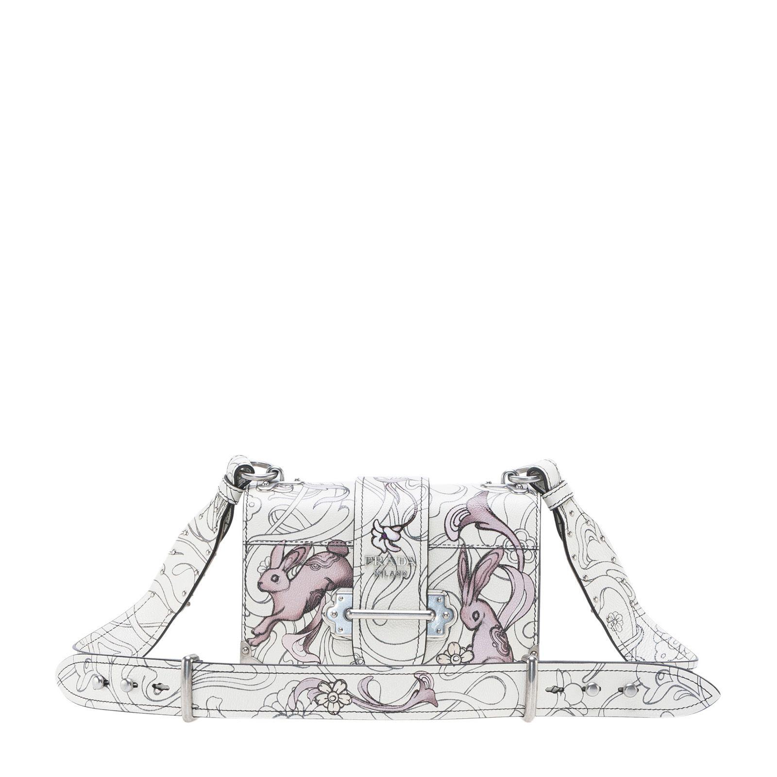 1e05011bf01 Prada Rabbit Cahier Bag In Opaline   ModeSens