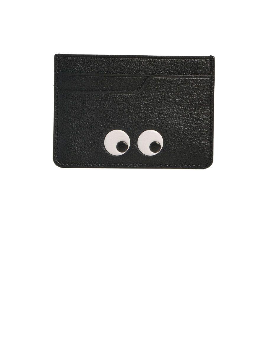 Anya Hindmarch Eyes Leather Card Case