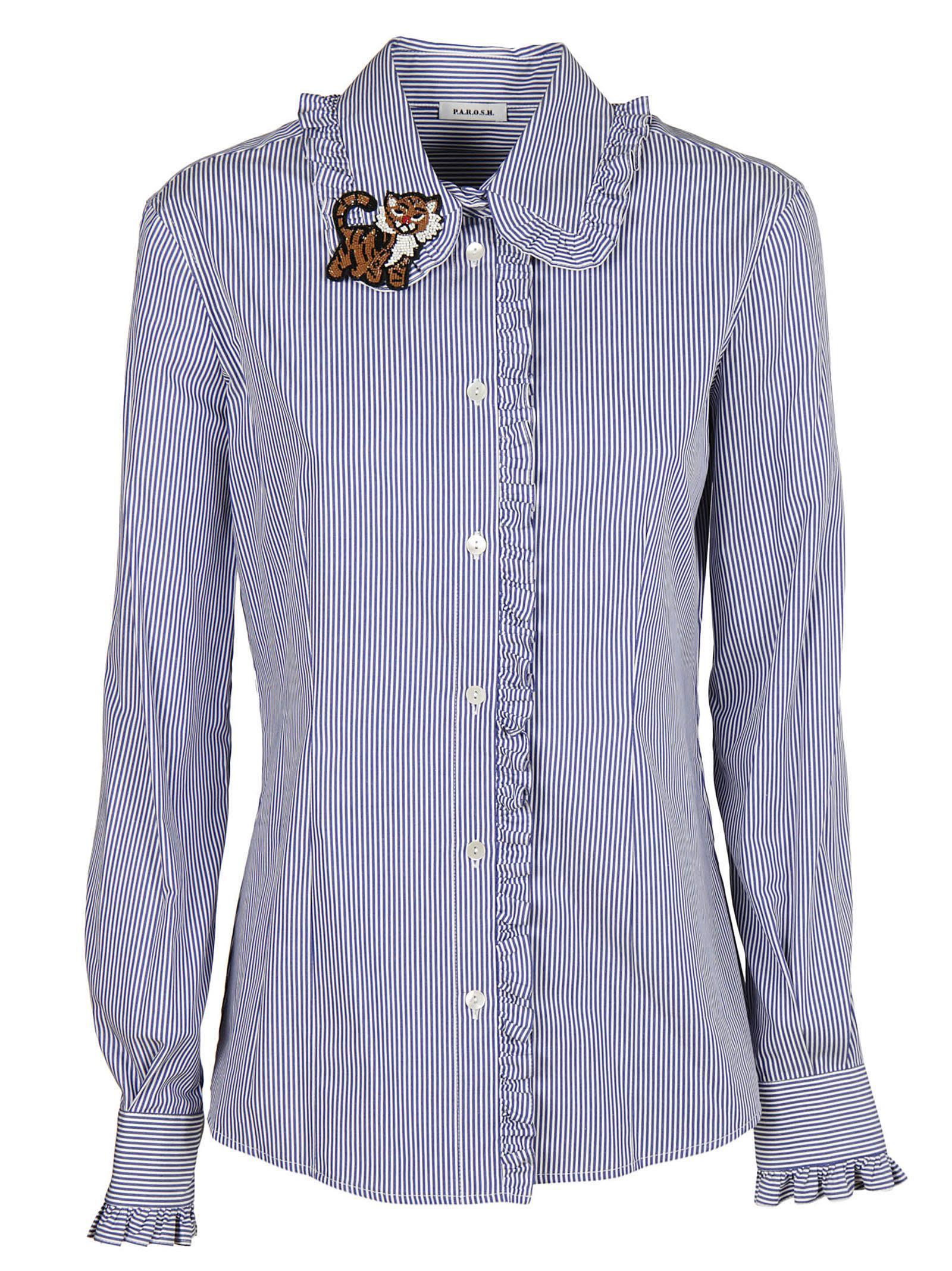 Parosh Striped Shirt