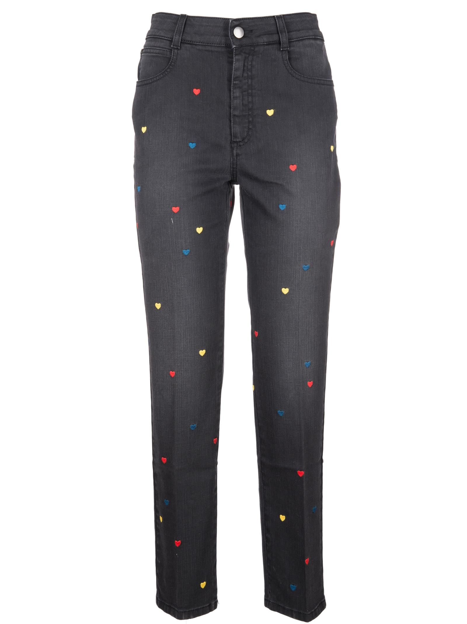 Stella Mccartney Heart Jeans
