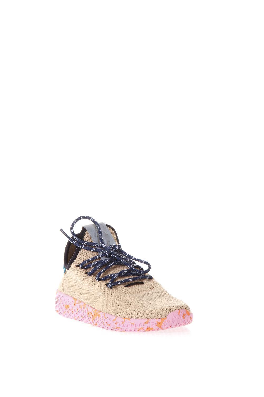 Tennis Hu Primeknit Shoes, Beige-Pink
