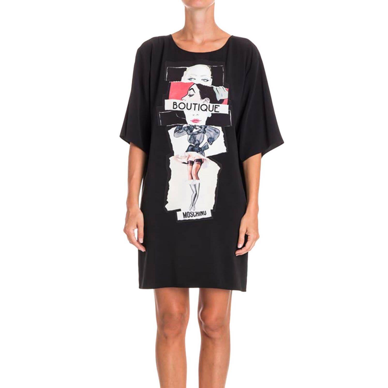 Dress Shirt Women Boutique Moschino