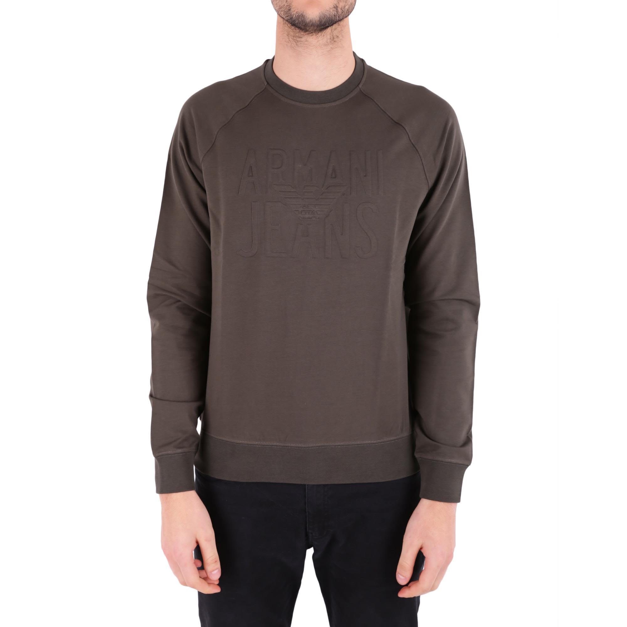Armani Jeans Cotton Blend Sweatshirt