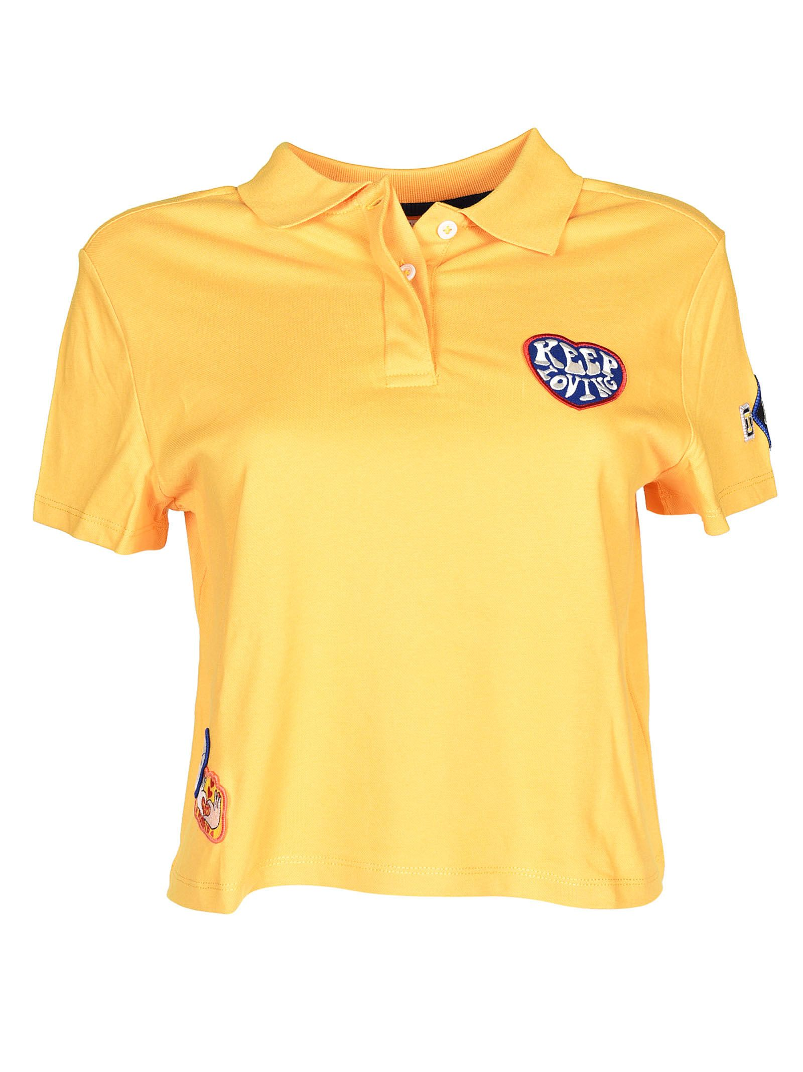 Tommy Hilfiger Patch Detail Polo Shirt