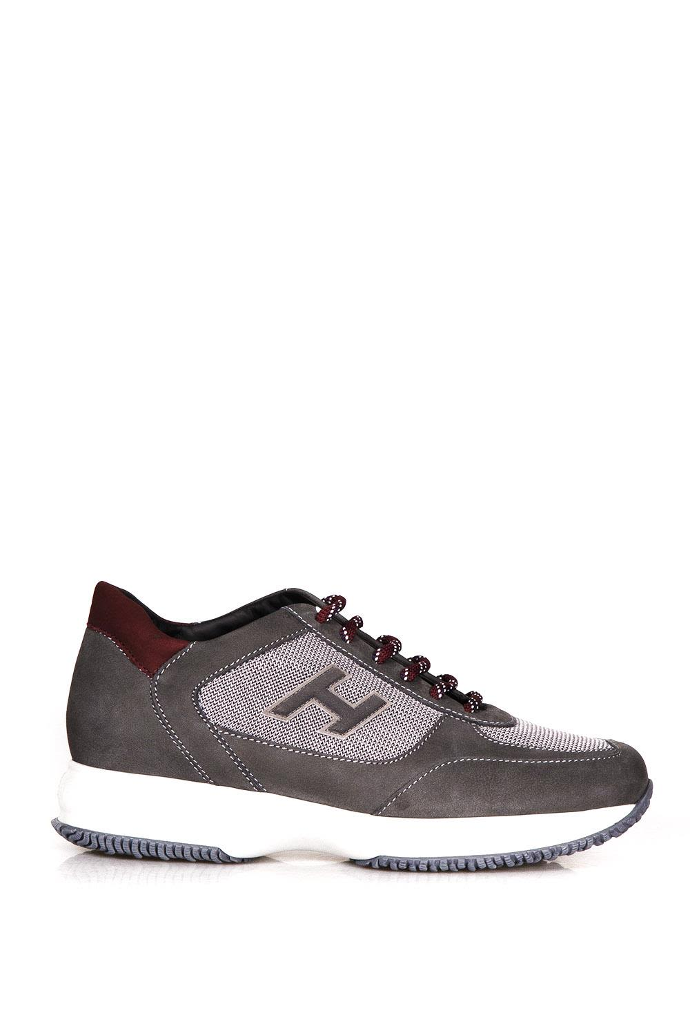 Hogan New Interactive Suede & Mesh Sneakers
