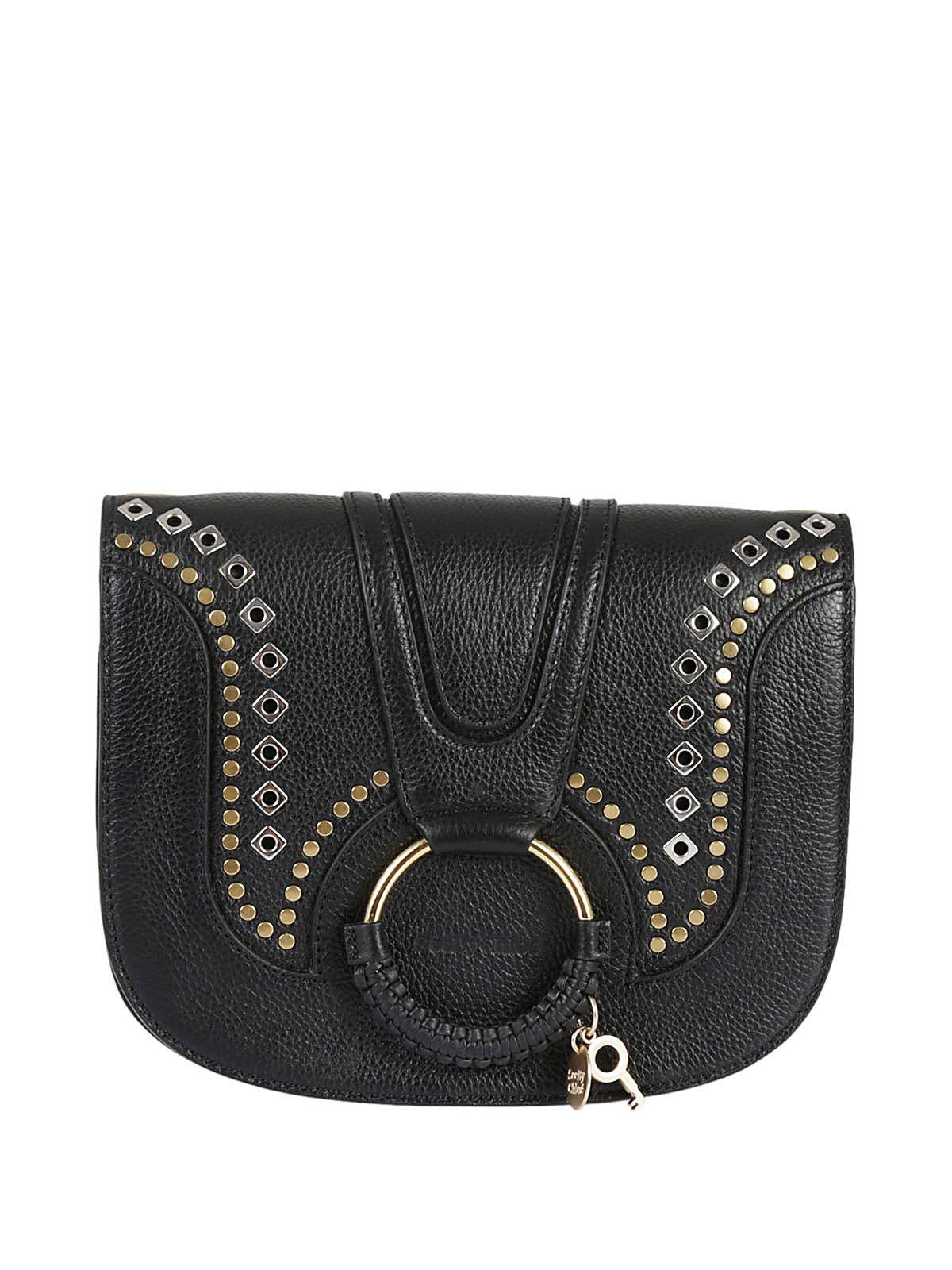 See By Chlo? Studded Hana Shoulder Bag