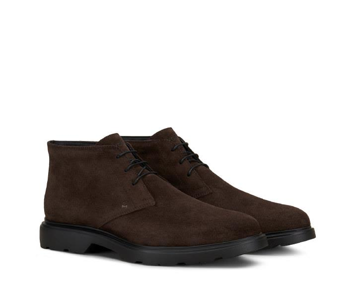 H304 New Route Suede Ankle Boots