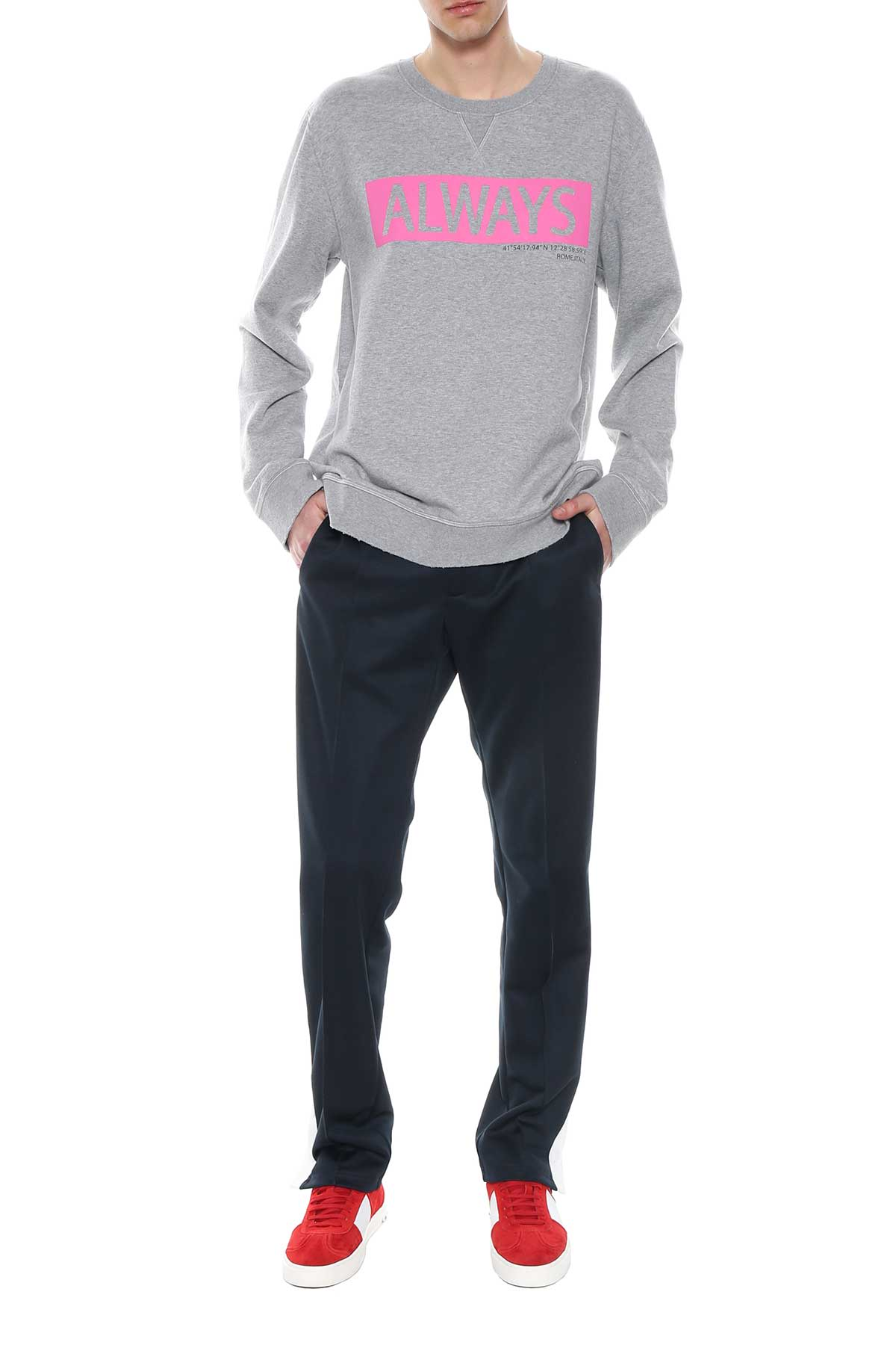 Valentino Valentino always Print Sweatshirt