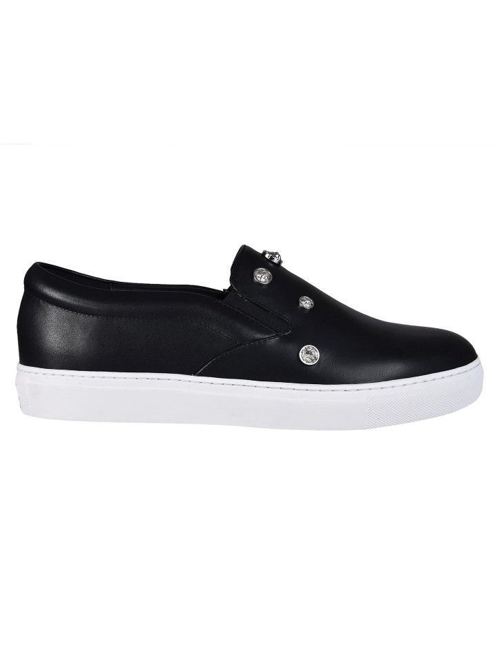 Versus Studded Slip-on Sneakers