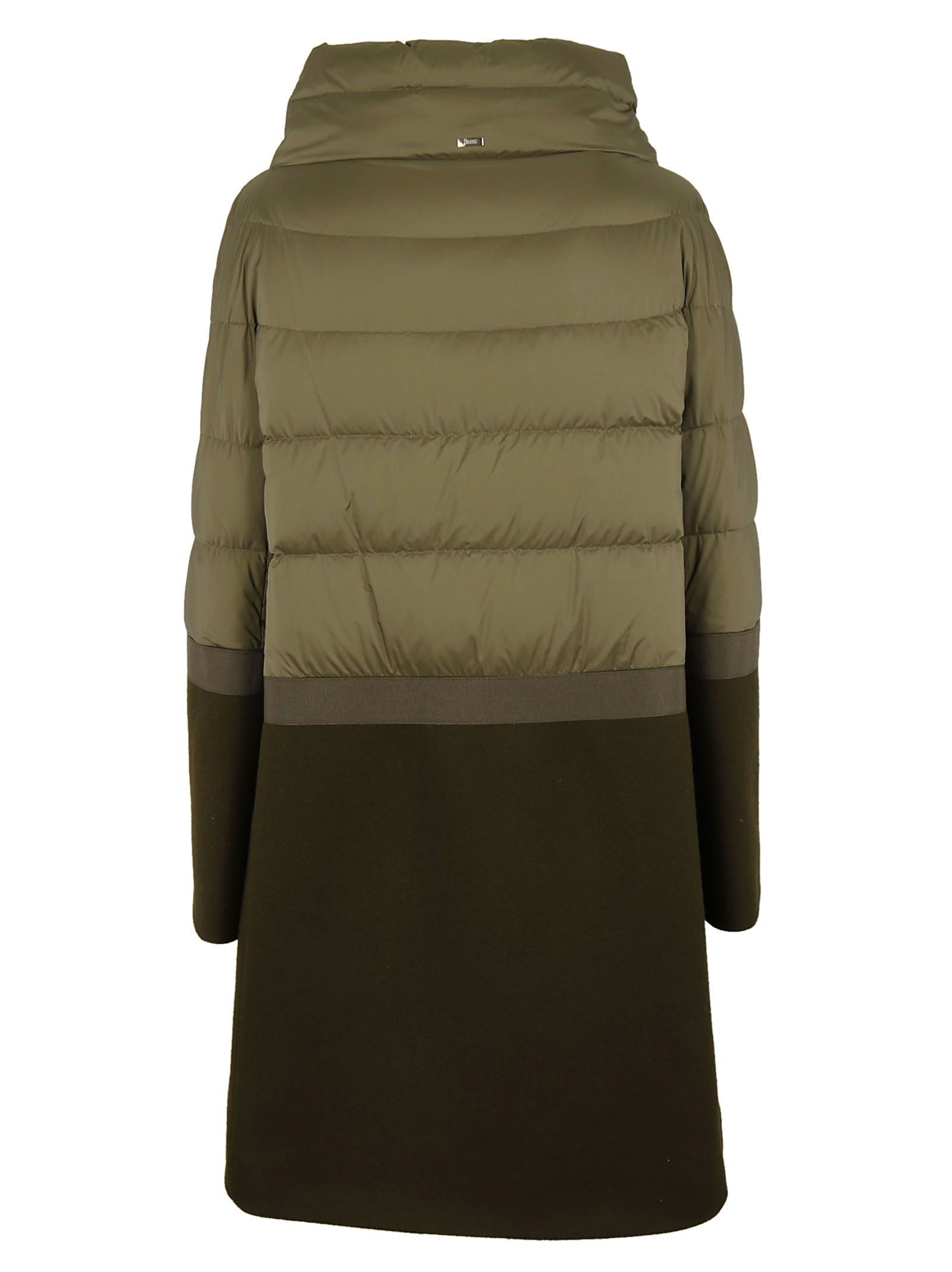 Herno - Herno Padded Coat - Green, Women's Coats | Italist