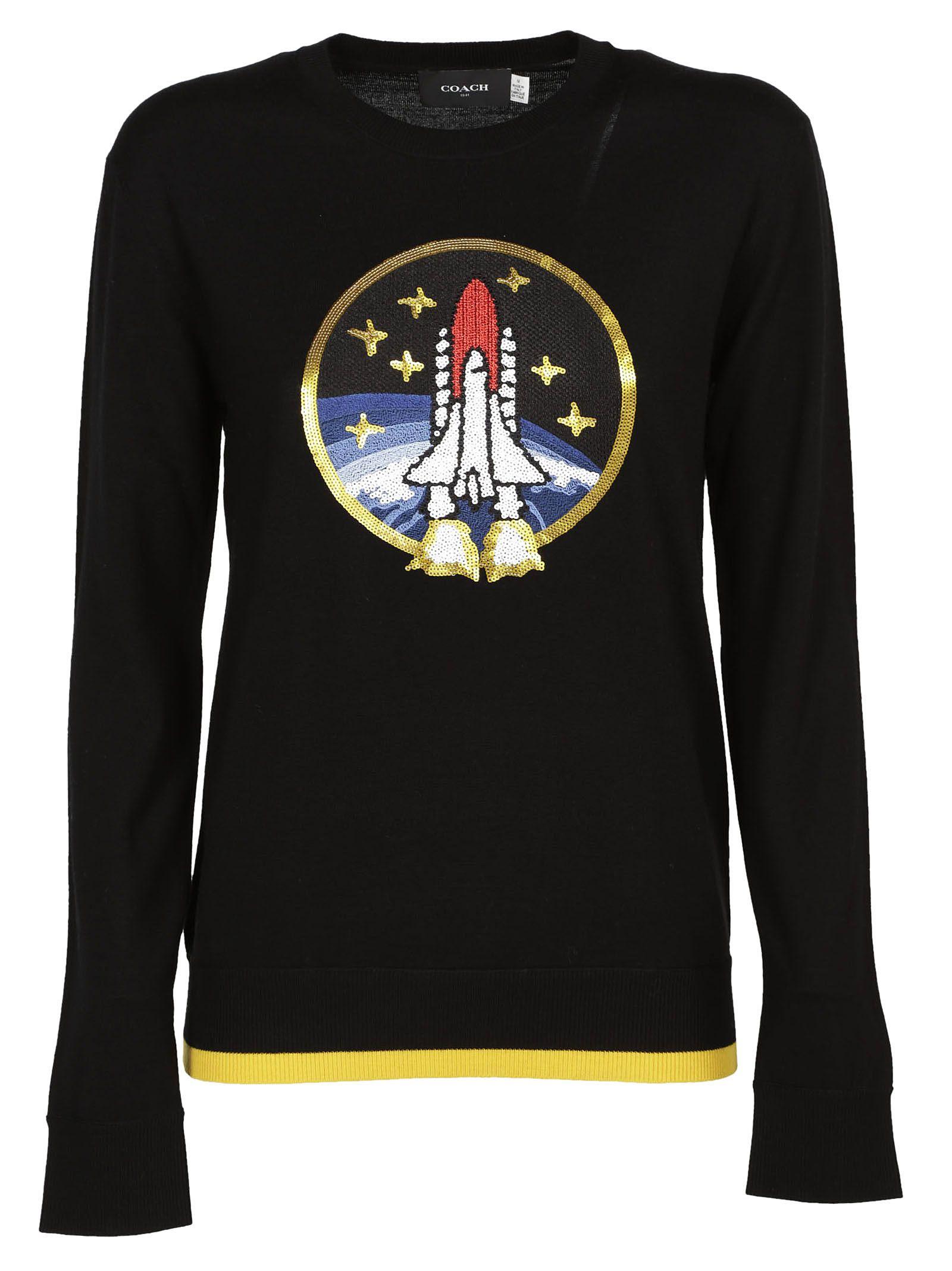 Coach Coach Space Rocket Sweater
