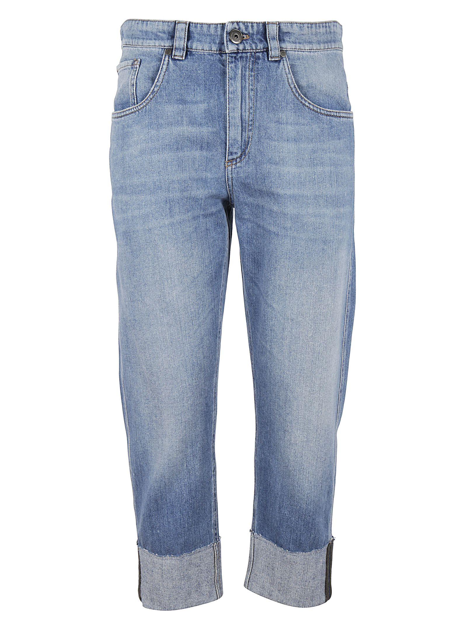 Brunello Cucinelli Cropped Jeans