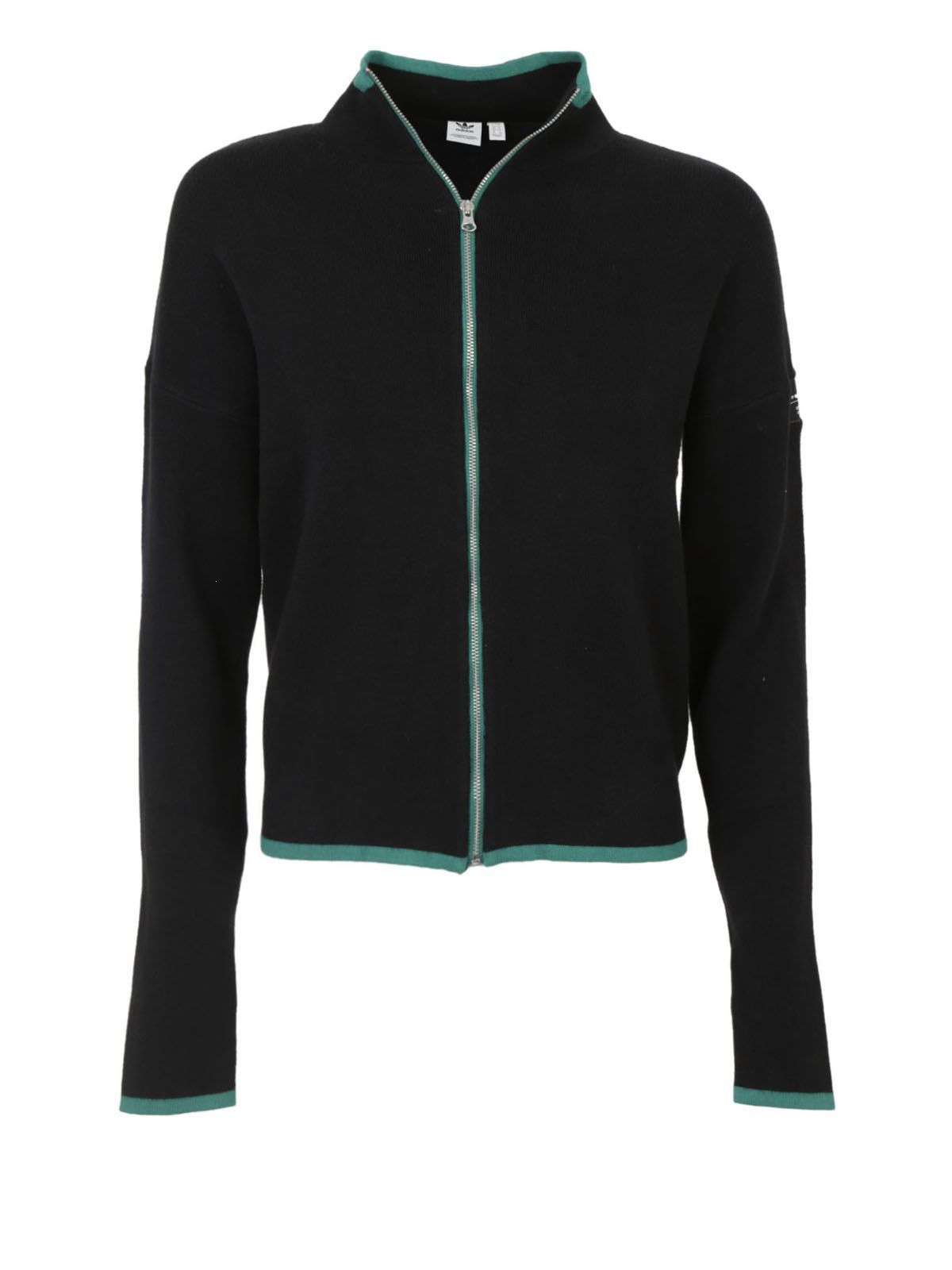 Adidas Originals - Adidas Originals Zip-up Cardigan, Women's ...