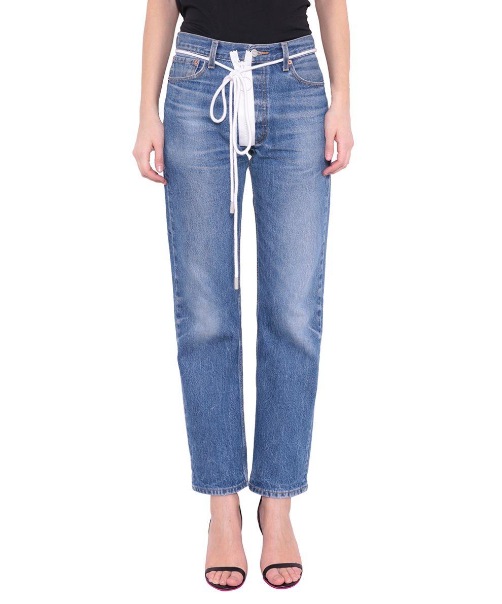 Off-White Levis Edition Cotton Jeans