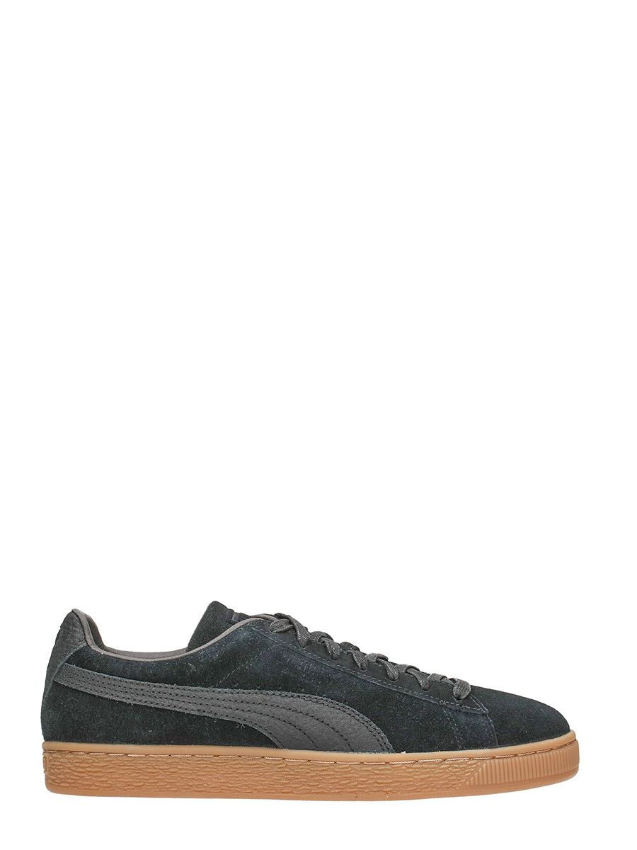 puma puma suede classic black sneakers black men 39 s. Black Bedroom Furniture Sets. Home Design Ideas
