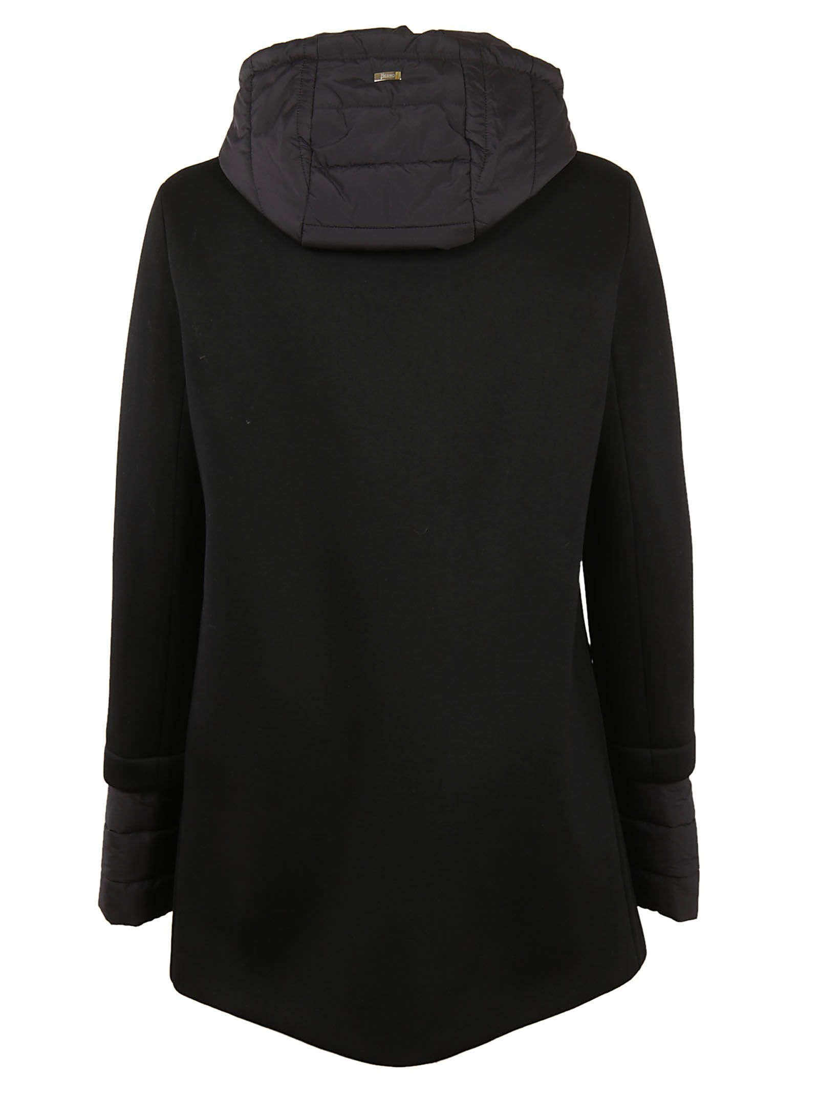 Herno - Herno Classic Fitted Parka - Black, Women's Coats | Italist