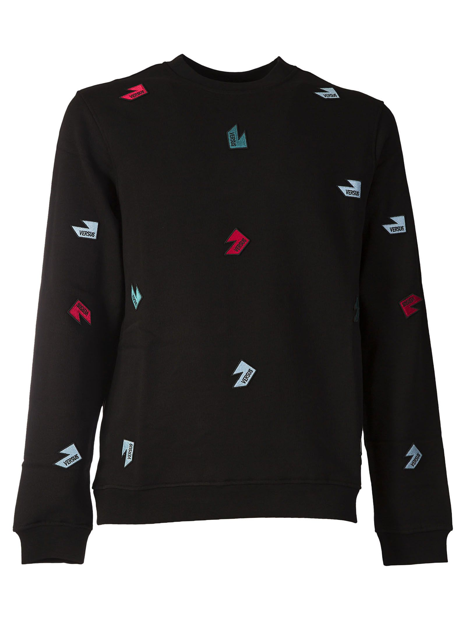 Versus Logo Patch Sweatshirt