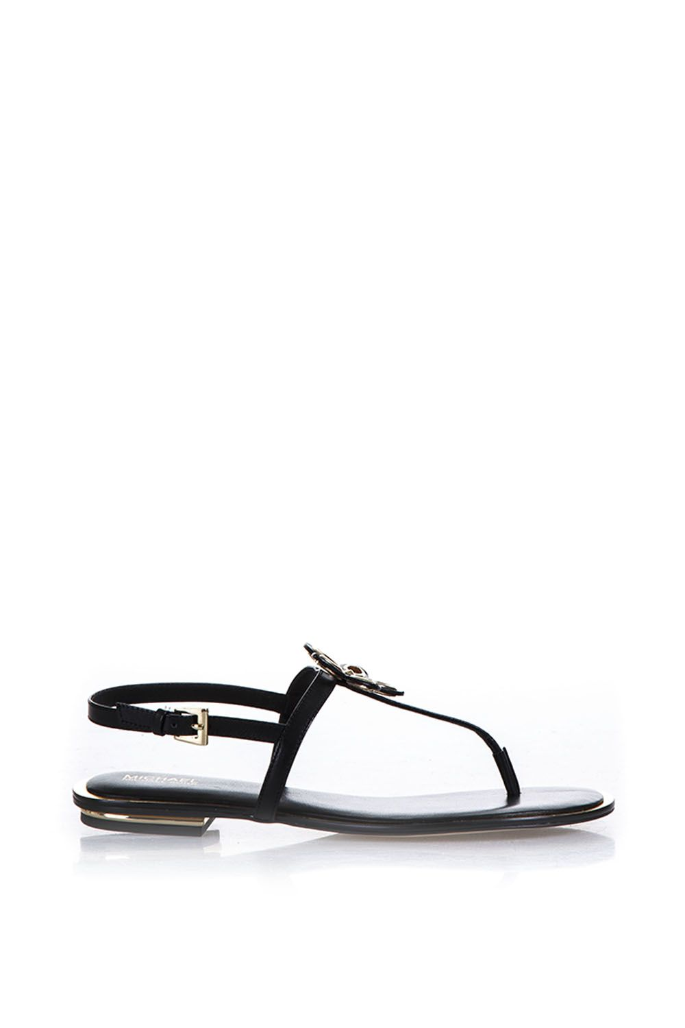 MICHAEL Michael Kors Leather Sandals With Flower