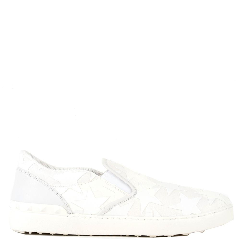 Valentino Garavani Star Appliqué Slip-on Sneakers