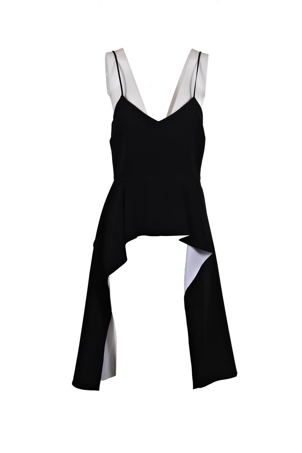 Givenchy Draped Peplum Top