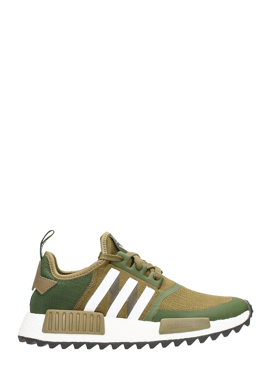 Adidas Originals x White Mountaineering Nmd Trail Technical Fabric Green Sneakers